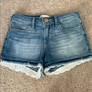 Abercrombie and Fitch Kids Jean Shorts